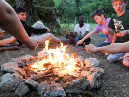 Des soirées feu de camp