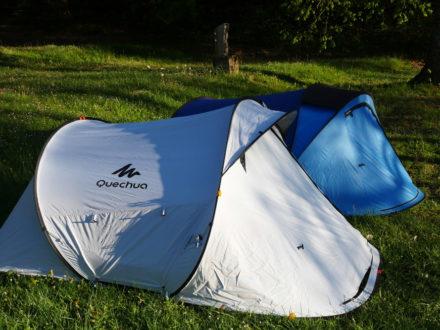 Les tentes du séjour