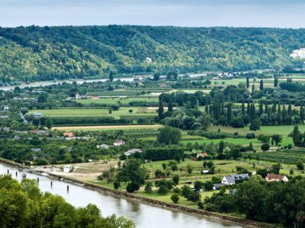 Panorama, Barneville-sur-Seine.